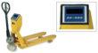 Transpallet pesatore con pesatura elettronica integrata